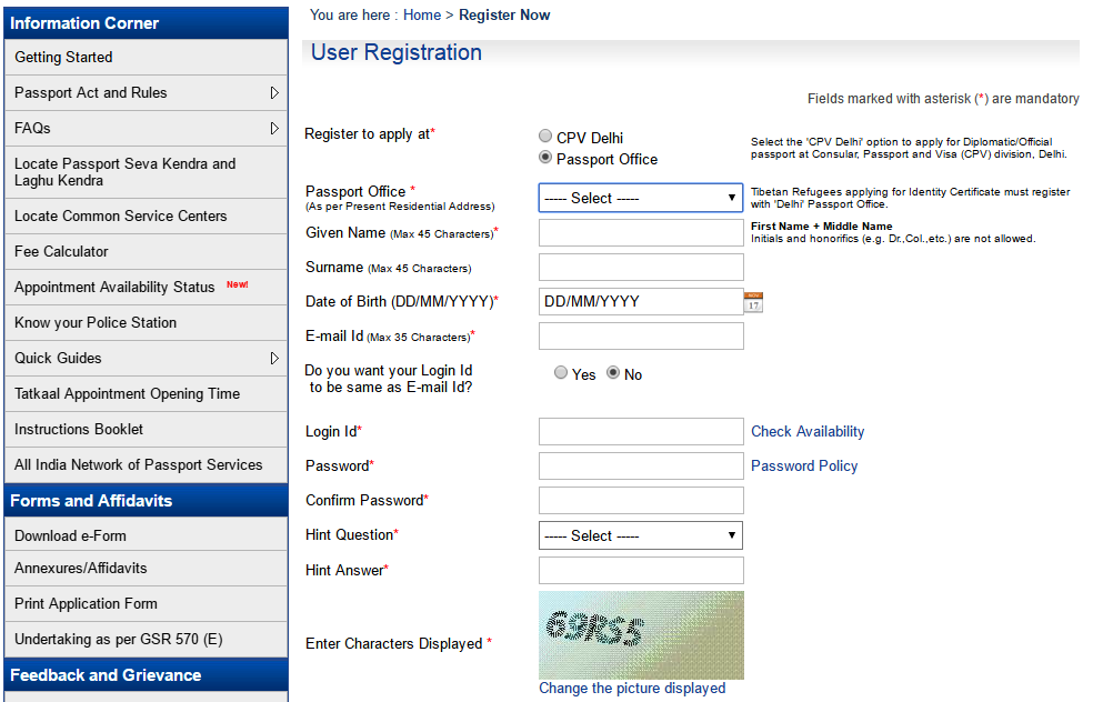 Heres The Step By Step Procedure To Apply For Passport In Udaipur