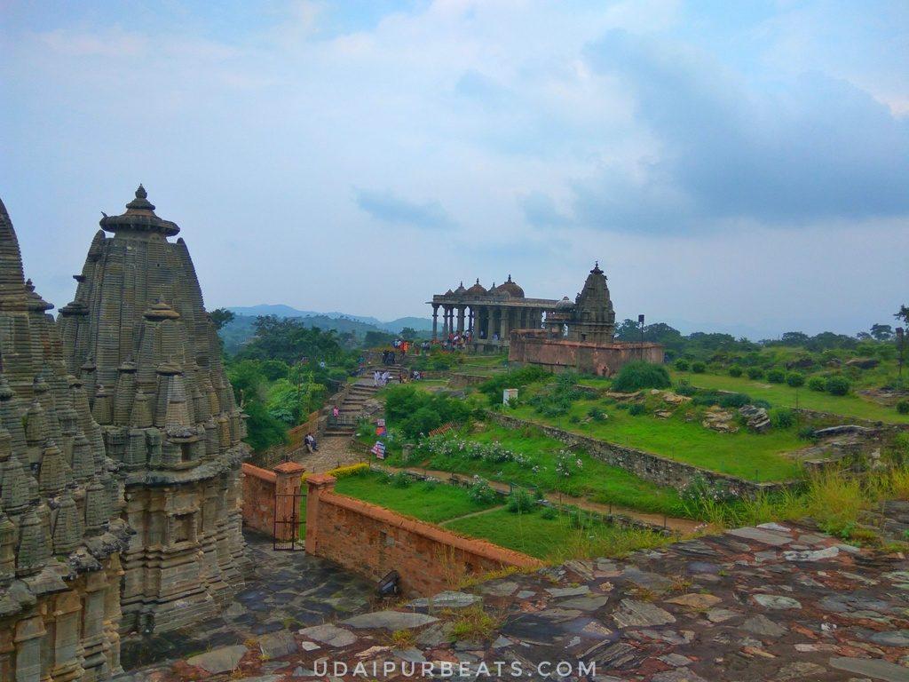 Jain temple at Kumbhalgarh