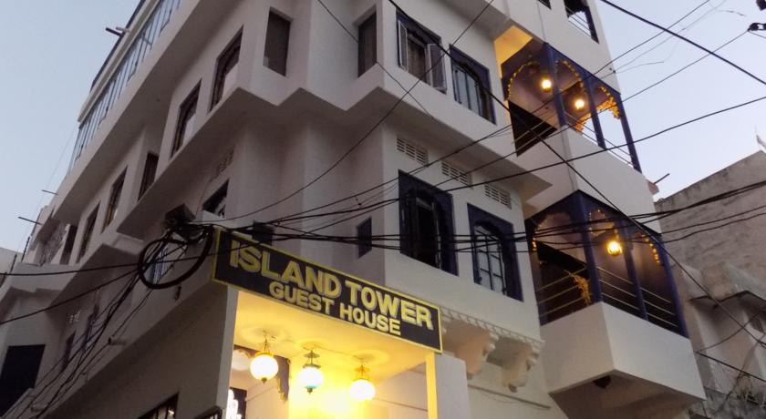 island tower guest house udaipur