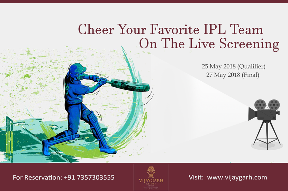 IPL on big screen in Udaipur