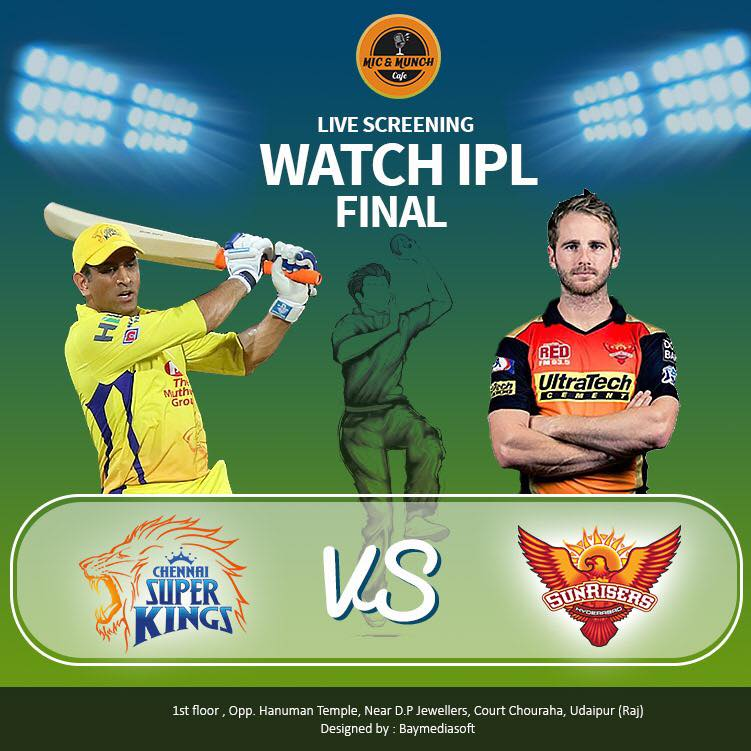 IPL BIG SCREEN UDAIPUR