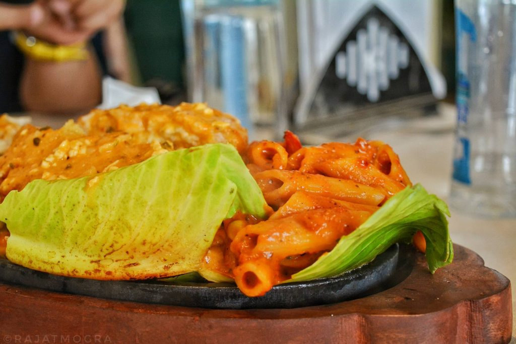 best sizzler in Udaipur