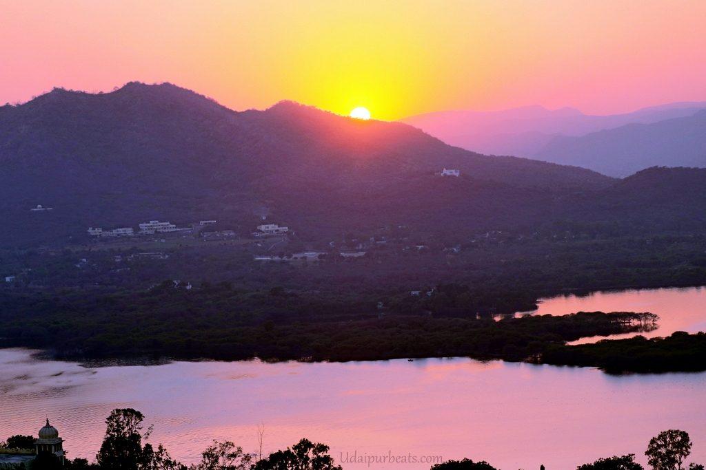 Sunset Karnimata Udaipur
