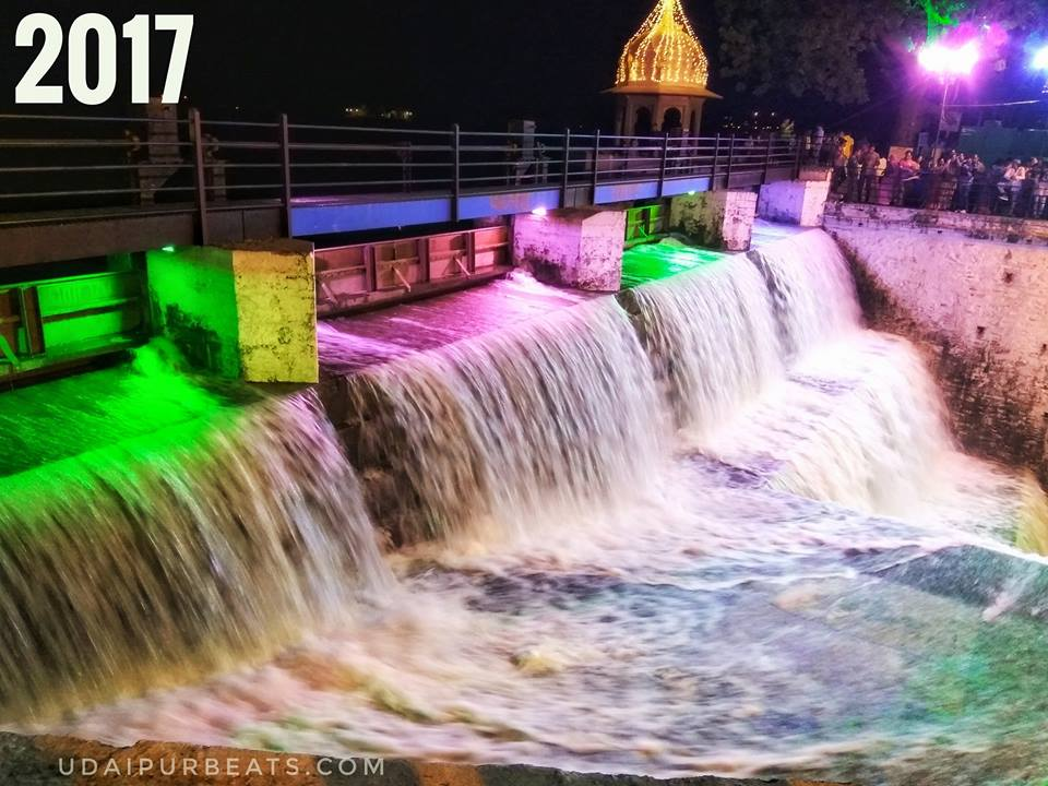 Fatehsagar Overflowing