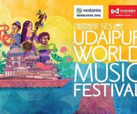 Udaipur World music festival 2018
