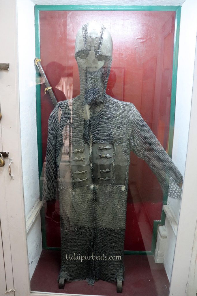 Maharana Pratap Armour at City Palace Udaipur