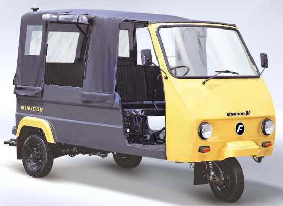 Auto for public transport in Udaipur