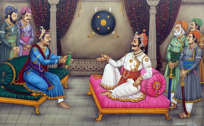 maharana Pratap refusal to Akbar
