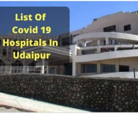 Covid 19 hospitals in Udaipur